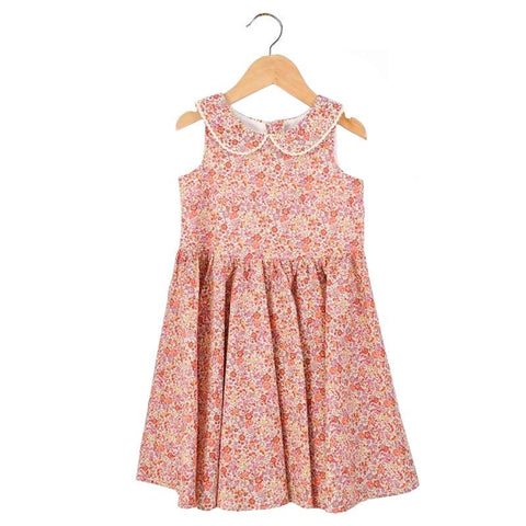 Pretty Wild Maria Dress - Mallow Flower - Tea Pea Home