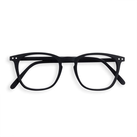 Izipizi France Reading Glasses - Black Collection E - Tea Pea