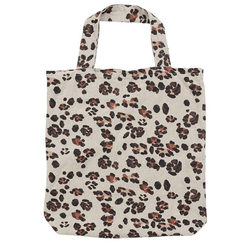 Society of Wanderers Tote Bag - Leopard - Tea Pea Home