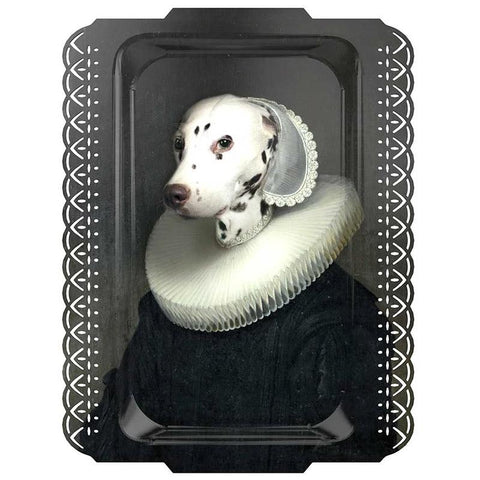iBride France Portrait Serving Tray / Art Piece - Arthenice - Tea Pea Home
