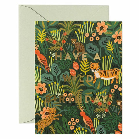 Rifle Paper US Card - Wild Birthday - Tea Pea Home