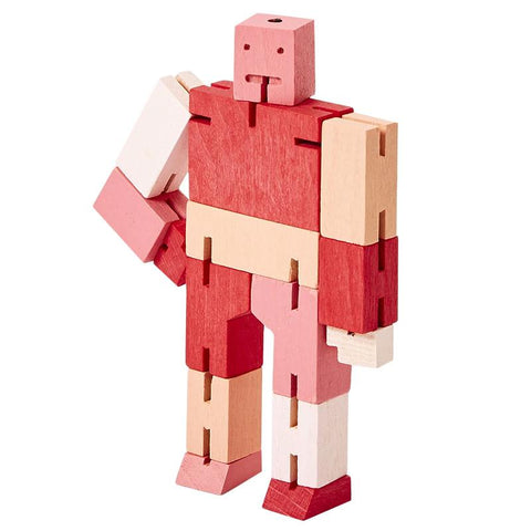 Areaware New York Cubebot - Micro Red Multi - Tea Pea Home