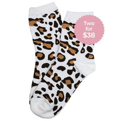 Cheetah Socks - Tea Pea Home