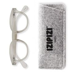 Izipizi France Reading Glasses - Collection C Bloom Defty Grey - Tea Pea Home