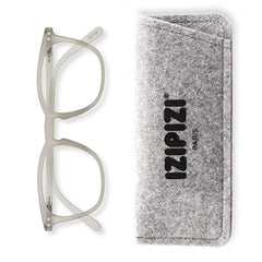 Izipizi France Reading Glasses - Collection E Bloom Defty Grey - Tea Pea Home