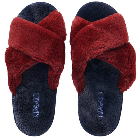 Kip & Co Adult Slippers - Midnight Merlot - Tea Pea Home