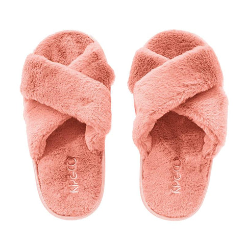 Kip & Co Kid's Slippers - Blush Pink - Tea Pea Home