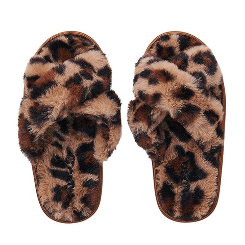 Kip & Co Kid's Slippers - Cheetah - Tea Pea Home