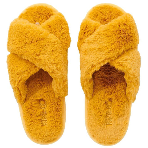 Kip & Co Adult Slippers - Sunshine Yellow - Tea Pea Home