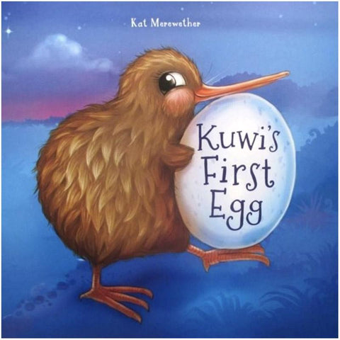 Kuwi's First Egg Book & Soft Toy - Tea Pea Home