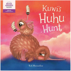 Kuwi's Huhu Hunt Book & Soft Toy - Tea Pea Home