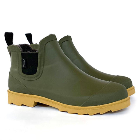 Marlo Adult Rain Boot - Olive Green - Tea Pea Home