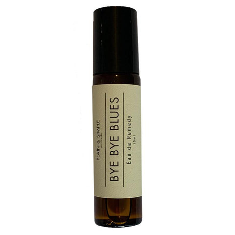 Plain & Simple Eau de Remedy Essential Oils Roll On - Bye Bye Blues - Tea Pea Home