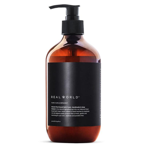 Real World NZ Bath Foam - Ylang Ylang & Bergamot - Tea Pea Home