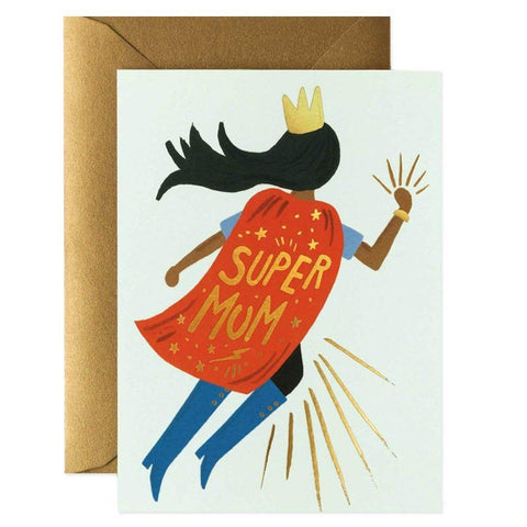 Rifle Paper US Card - Super Mum - Tea Pea Home