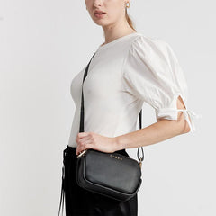 Saben Odile Crossbody - Black - Tea Pea Home