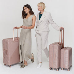 Saben Large Suitcase - Dusky Rose - Tea Pea Home