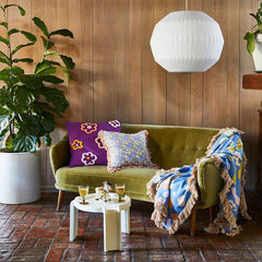 Sage & Clare Cushion - Louna Fringe - Tea Pea Home