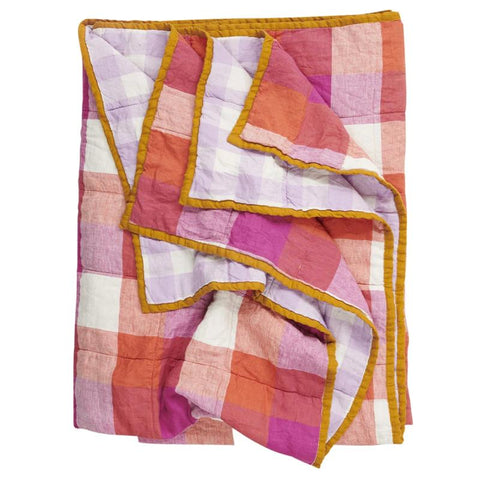 Society of Wanderers Quilt - Sherbet & Lilac - Tea Pea Home