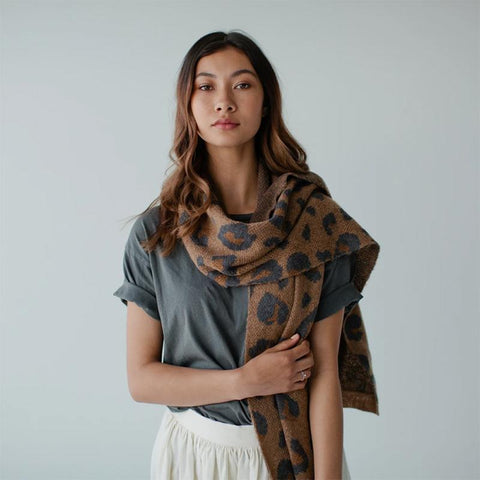 Sophie Knit Scarf - Wild - Tea Pea Home