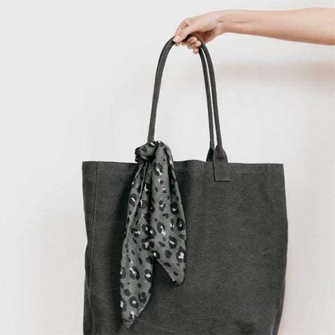 Sophie Great Big Bag - Charcoal - Tea Pea Home