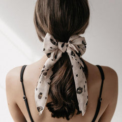 Sophie Mini Scarf - Leopard Blush - Tea Pea Home