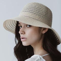 Sophie So Shady Hat - Ivory - Tea Pea Home