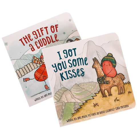 Special Edition Boxed Book Set - The Gift of a Cuddle / I Got You Some Kisses - Tea Pea Home