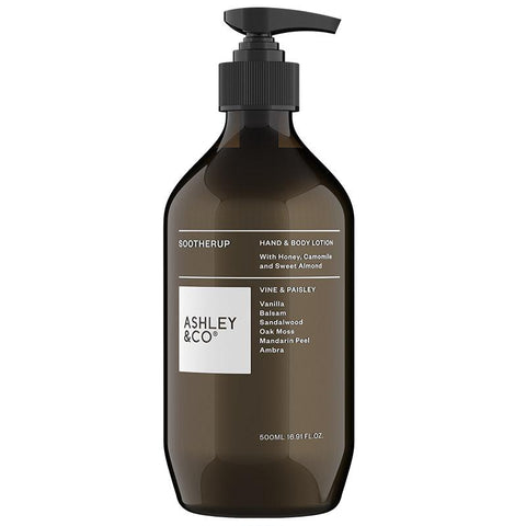 Ashley & Co SootherUp Hand & Body Lotion - Tea Pea Home