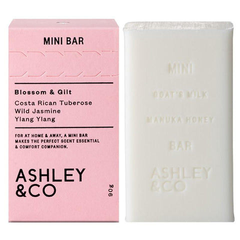 Ashley & Co Mini Bar Soap - Blossom & Gilt