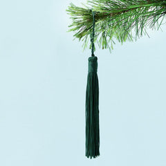 Down to the Woods Tassel - Pine Green