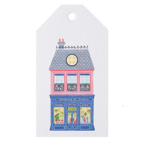 Tea Pea Home Gift Tag - French Village Florist - Tea Pea Home