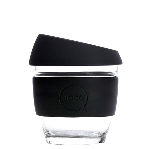 Joco Glass Travel Cup - Black - Tea Pea Home
