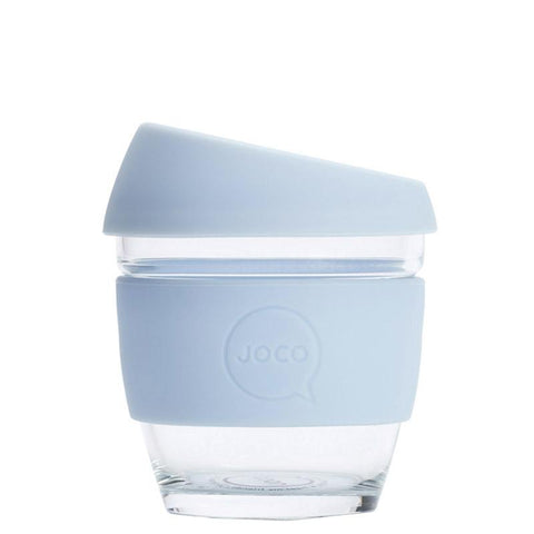 Joco Glass Travel Cup - Vintage Blue - Tea Pea Home
