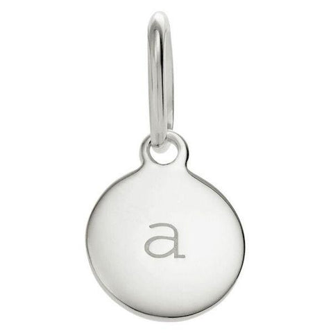 Little Kirstin Ash Letters - Sterling Silver - Tea Pea