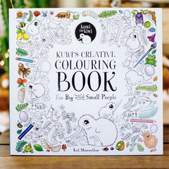 Kuwi the Kiwi's Creative Colouring Book & Soft Toy - Tea Pea Home
