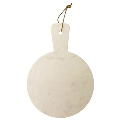 Marble Cheese Board Round with Handle