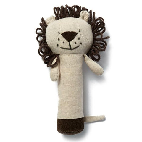 Levi Lion Rattle - Tea Pea Home