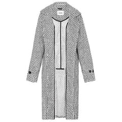 Paqme Women's Trench Raincoat - Dalmatian - Tea Pea Home