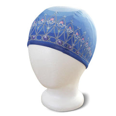 Poolbeanies Lycra Swim Cap - Tiara in Crystal Blue - Tea Pea