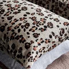Society of Wanderers Pillowslip Set - Leopard - Tea Pea Home