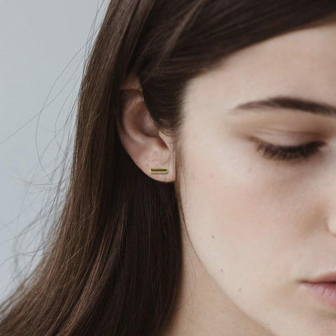 Sophie Earrings - Mini Bar Stud