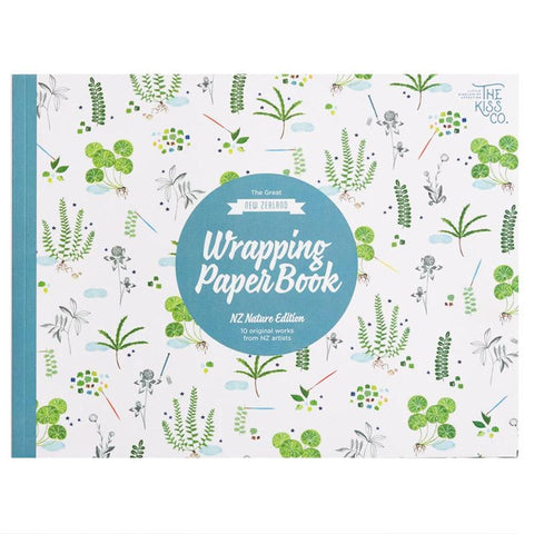 The Kiss Co The Great New Zealand Wrapping Paper Book - Nature Edition - Tea Pea Home