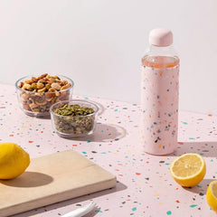 W&P New York Porter Glass Bottle - Terrazzo Blush - Tea Pea Home