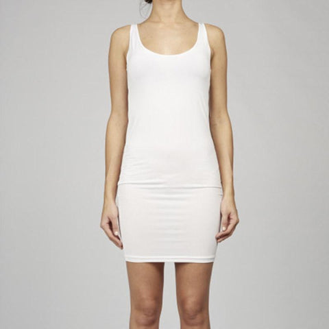 Cable Melbourne Basic Slip Dress - White - Tea Pea Home