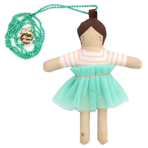 Meri Meri UK Necklace - Lila Doll - Tea Pea Home