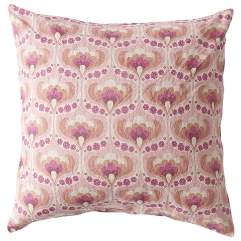 Society of Wanderers Cushion - Kitty Floral - Tea Pea Home