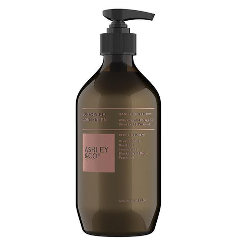 Ashley & Co SootherUp Gone Green Hand & Body Lotion - Peppy & Lucent - Tea Pea Home