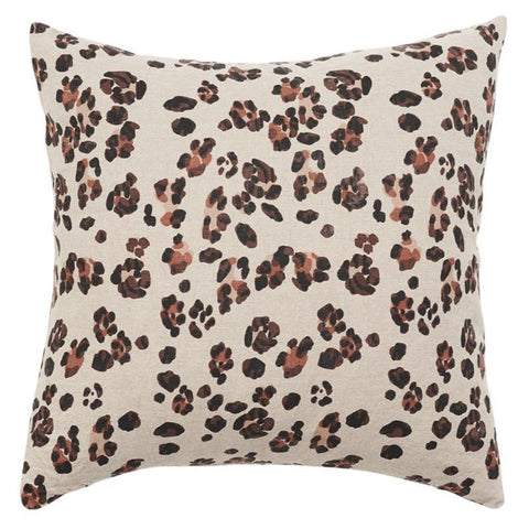 Society of Wanderers Cushion Cover - Leopard - Tea Pea Home