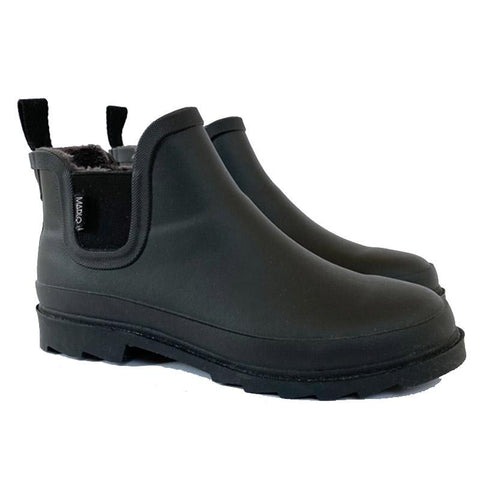 Marlo Adult Rain Boot - Jet Black - Tea Pea Home